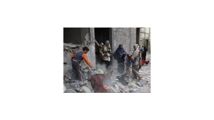 Liga arabských štátov vysiela do pásma Gazy delegáciu na znak solidarity