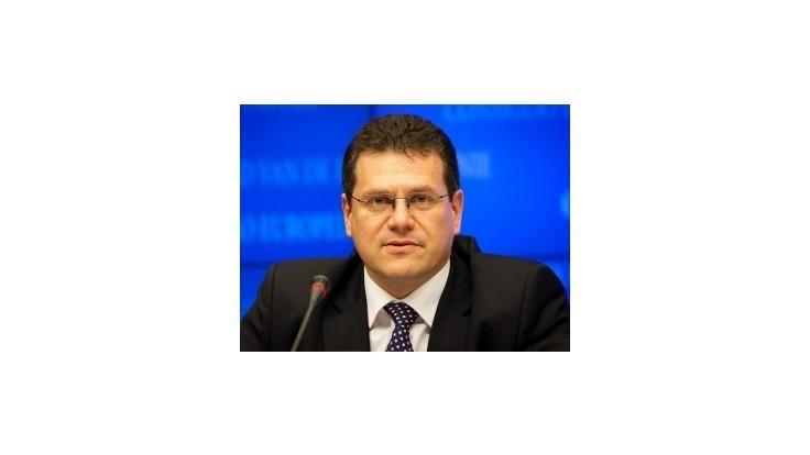 Šefčovič: Všetci pracujú na tom, aby rozpočet EÚ prešiel jednohlasne