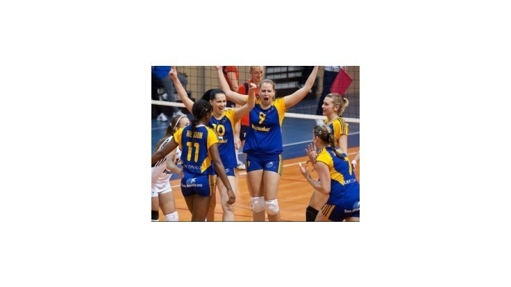 Volejbalistky Doprastavu postúpili do 16-finále Challenge Cupu