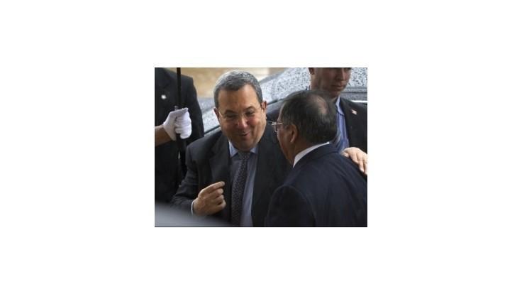 Izraelský minister obrany Ehud Barak odchádza z politiky