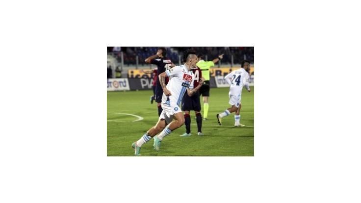 Hamšík rozhodol o víťazstve Neapolu v Cagliari