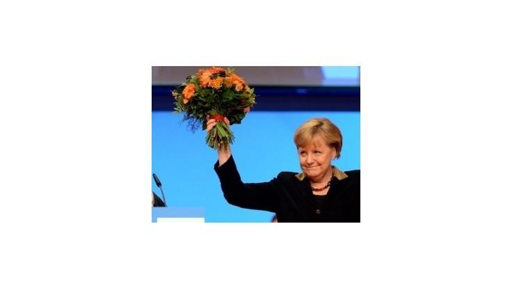 Merkelová získala vo voľbe šéfky CDU takmer všetky hlasy