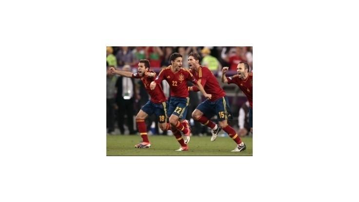 Španieli prezimujú ako líder rebríčka FIFA,Slováci spadli o štyri miesta