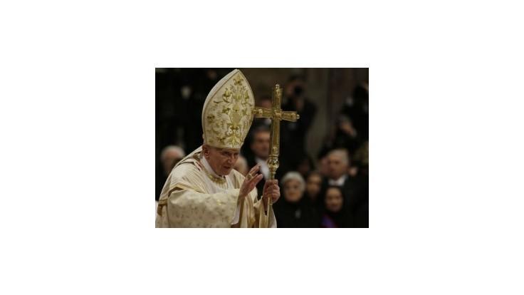 Vianočná Svätá omša v Bazilike sv. Petra v Ríme