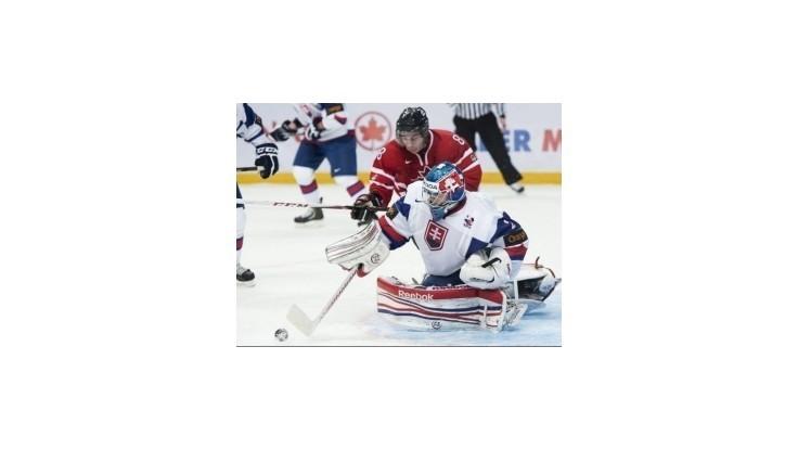 Slovenskí hokejisti do 20 rokov prehrali s Kanadou