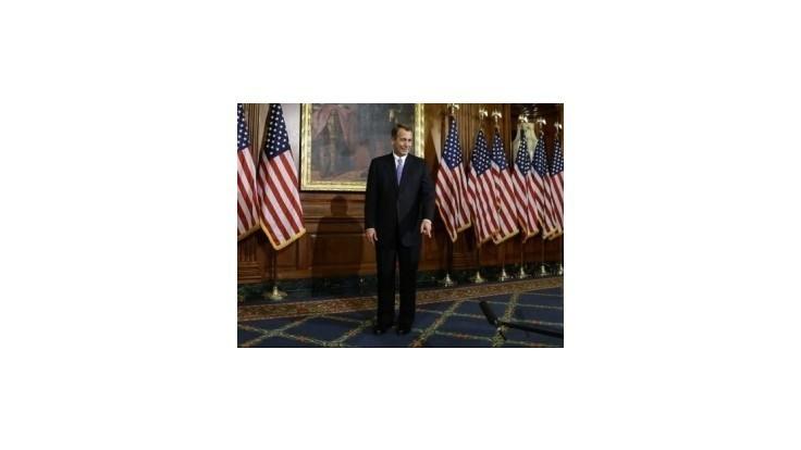 Predsedom americkej Snemovne reprezentantov sa znovu stal Boehner