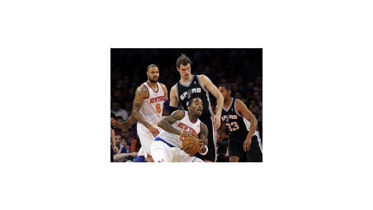 NBA: Knicks ukončili víťaznú šnúru Spurs