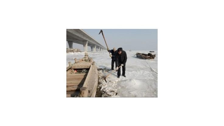 Silný mráz sužuje sever Číny a Mongolsko, na pomoc čaká 260.000 ľudí
