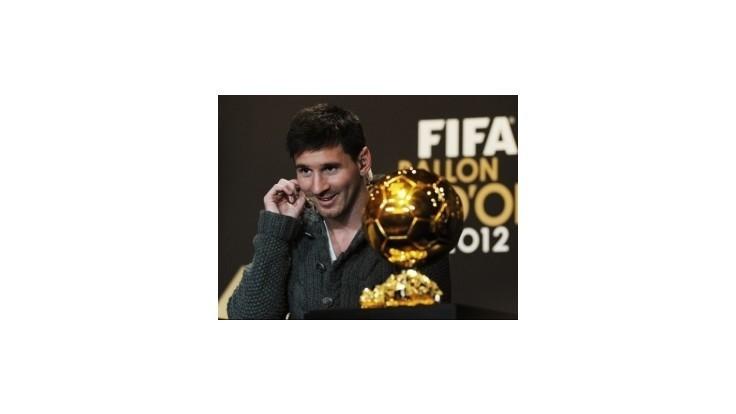 Messi s ďalším rekordom, Zlatú loptu získal štvrtýkrát