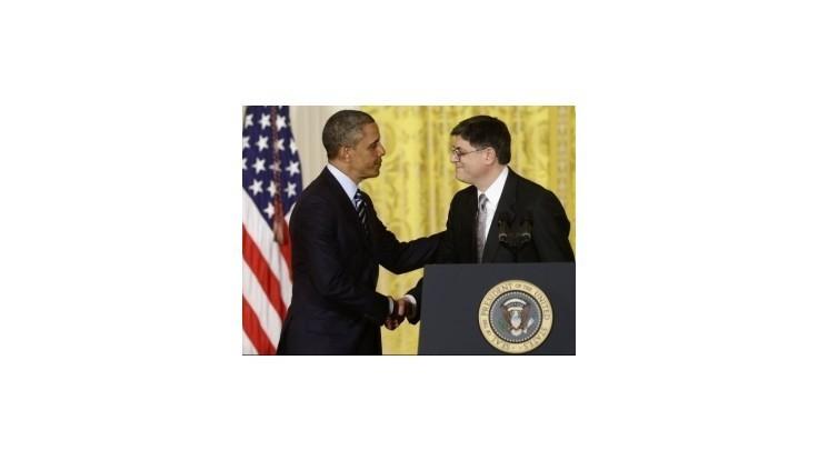 Za nového ministra financií si Obama vybral šéfa kancelárie