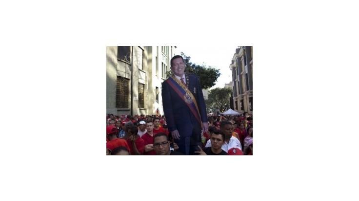 Venezuela symbolicky vymenovala chorého Cháveza