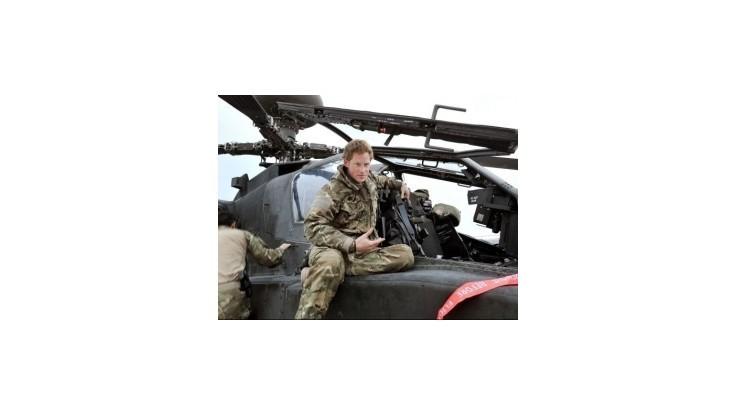 Princ Harry ukončil misiu, počas ktorej zabíjal Talibancov