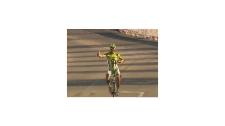 Sagan vyhral 2. etapu Okolo Ománu a je na čele