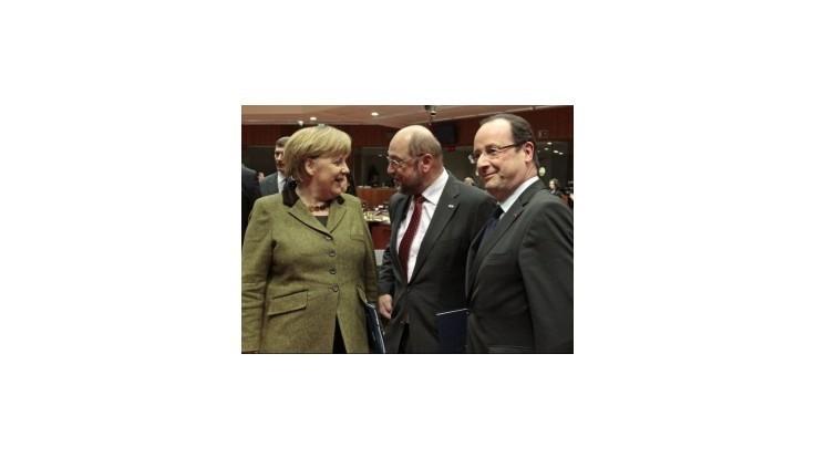 Merkelová chce čo najrýchlejšie zavedenie dane z finančných transakcií