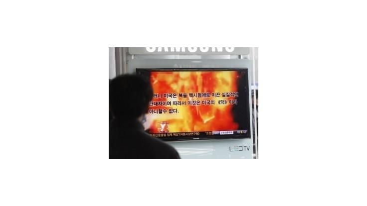 Propagandistické video KĽDR ukazuje Obamu v plameňoch