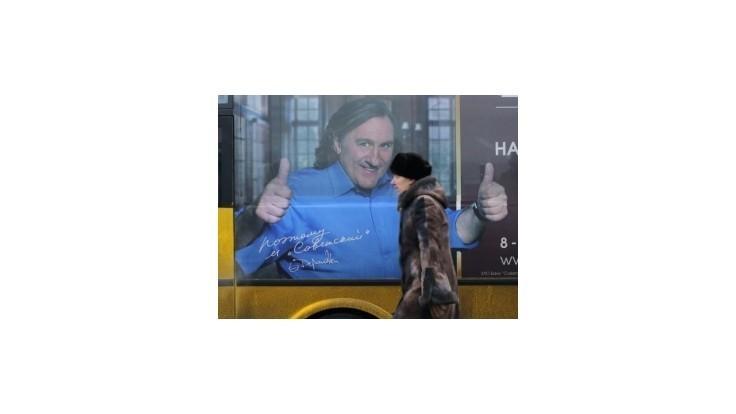 Depardieu pripravuje televízny seriál pre ruskú televíziu