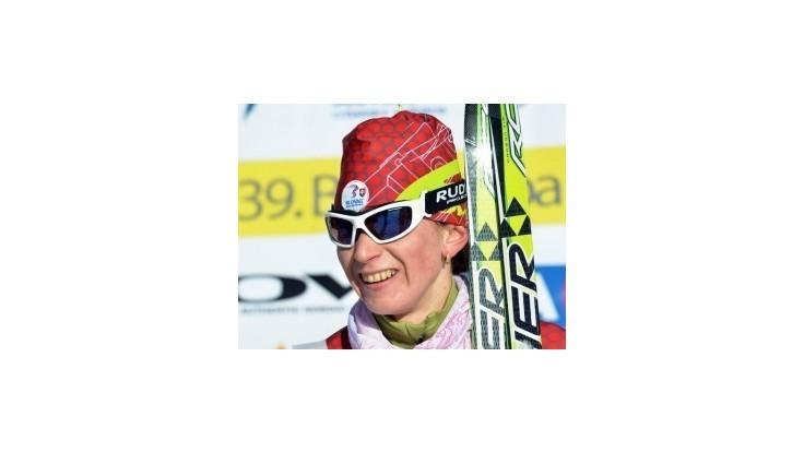 Procházková skončila na Svetovom pohári tretia v šprinte voľnou technikou