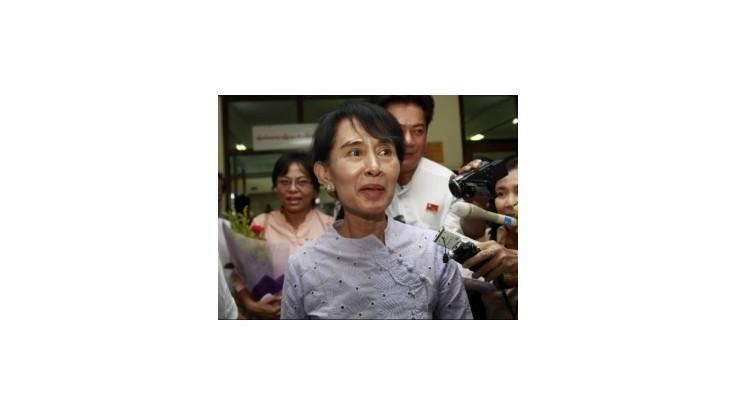 Mjanmarská opozičná strana NLD si za svoju líderku opäť zvolila Su Ťij