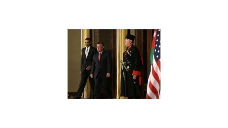 Obama sa stretol s jordánskym kráľom Abdalláhom II.
