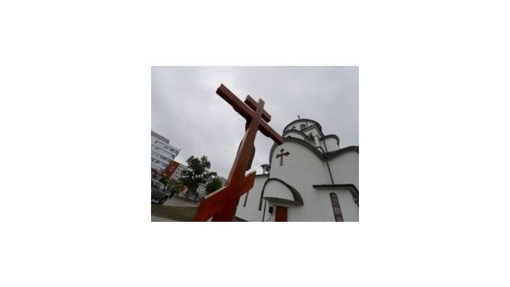 Pravoslávny chrám v Bratislave po rokoch výstavby vysvätili