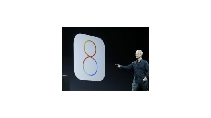 Apple predstavil nové operačné systémy Yosemite a OS8