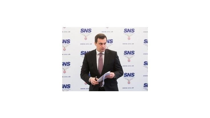 Danko z SNS obvinil Matoviča z problematického financovania kampane
