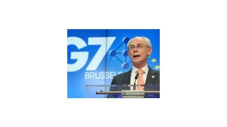 Predseda Európskej rady Van Rompuy nebude chýbať na Porošenkovej inaugurácii