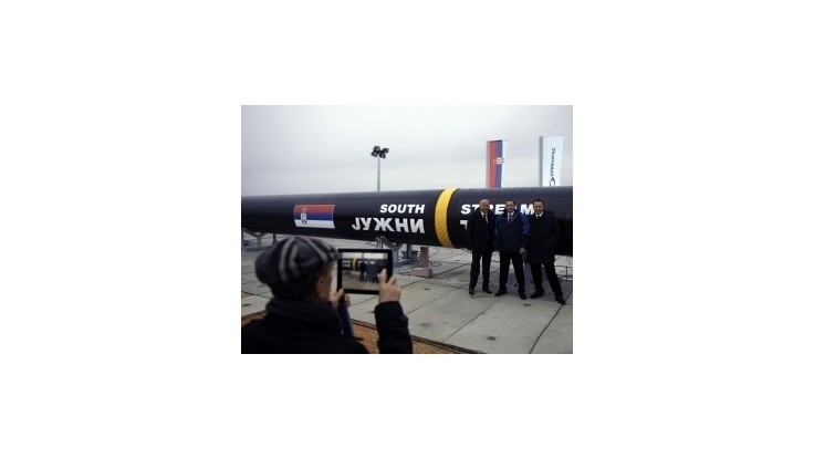 Gazprom pokračuje v projekte Južný prúd