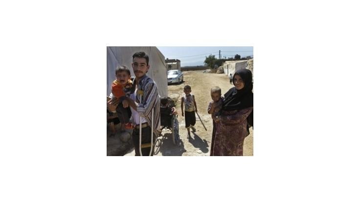 Čína humanitárne podporí krajiny, ktoré prichýlili sýrskych utečencov