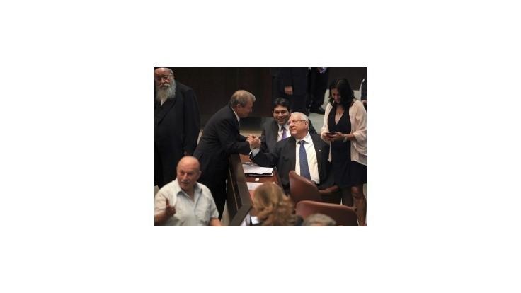 Novým izraelským prezidentom je Reuven Rivlin