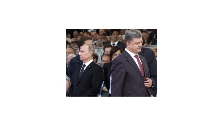 Porošenko telefonoval s Putinom o situácii na Ukrajine