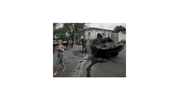 Rusi tvrdia, že našli na svojom území ukrajinské obrnené vozidlo