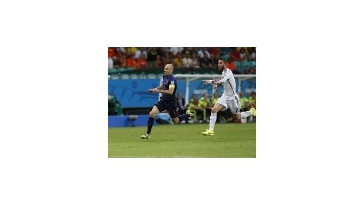 Robben je najrýchlejší hráč sveta