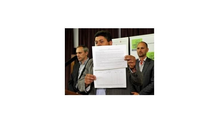 OĽaNO štartuje petíciu proti vývozu vody