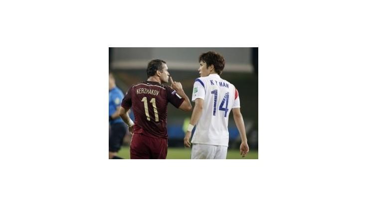 Zápas Rusov s Kórejčanmi sa skončil remízou