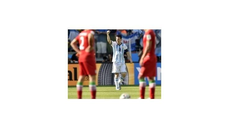 Argentína zdolala Irán 1:0 a je v osemfinále, rozhodol Messi