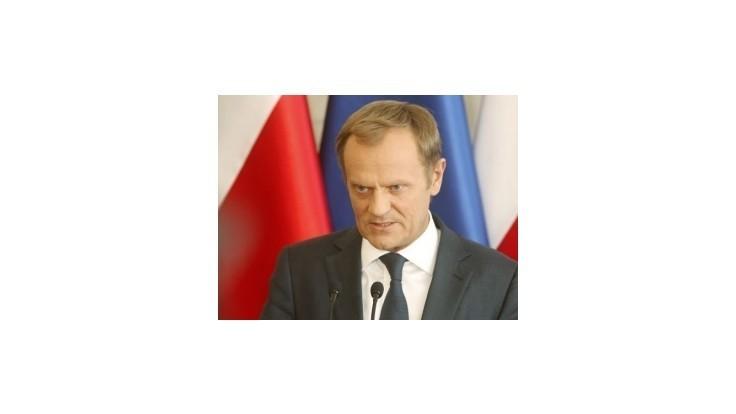 Tusk po škandále s odpočúvaním požiadal parlament o vyslovenie dôvery