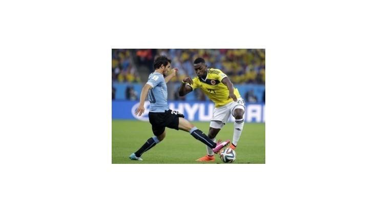 Kolumbia cez Uruguaj do štvrťfinále proti Brazílii