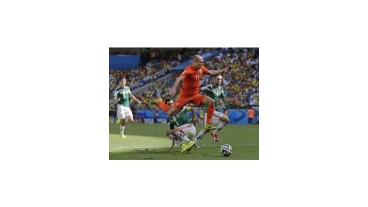 Holandsko knokautovalo Mexiko penaltou v nadstavenom čase