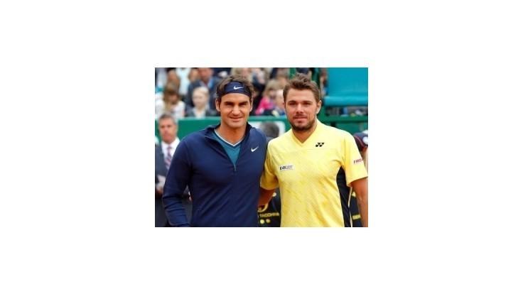 Vo štvrťfinále Wimbledonu bude švajčiarske derby Wawrinka - Federer