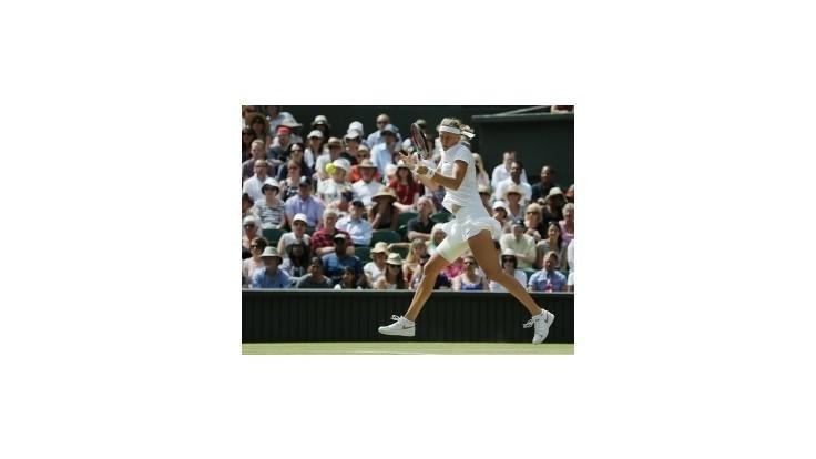 Kvitová zdolala Šafářovú a je vo finále Wimbledonu