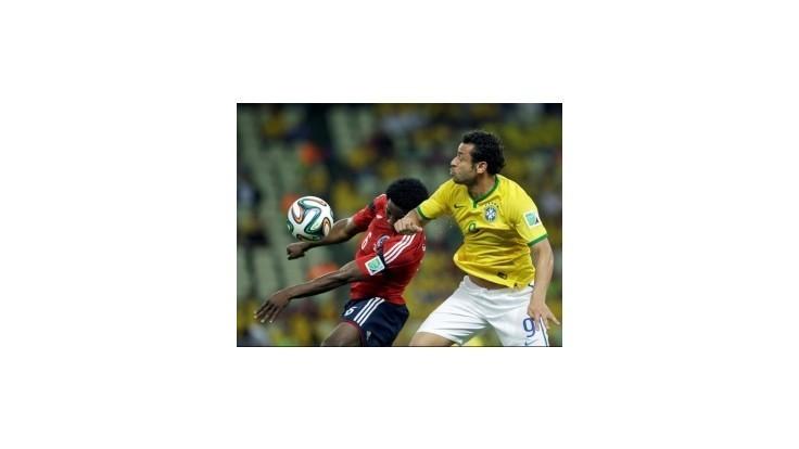 Brazília porazila vo štvrťfinále Kolumbiu