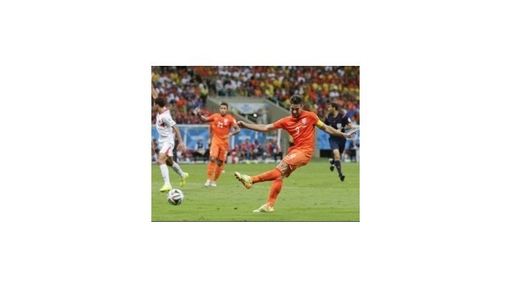 Rozstrel rozhodol o postupe Holandska do semifinále