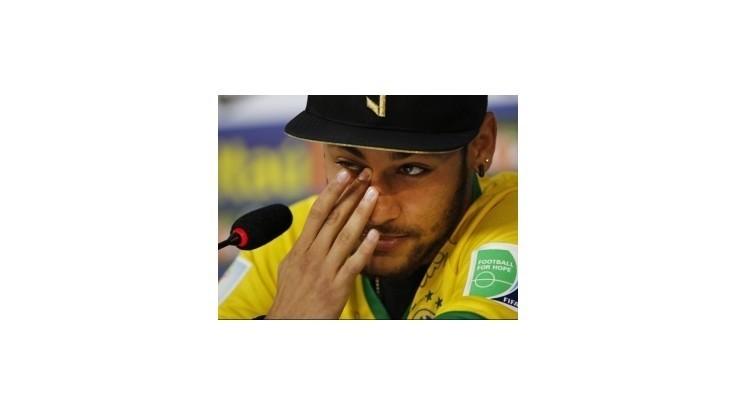 Neymara len 2 cm delili od toho, aby skončil na vozíčku