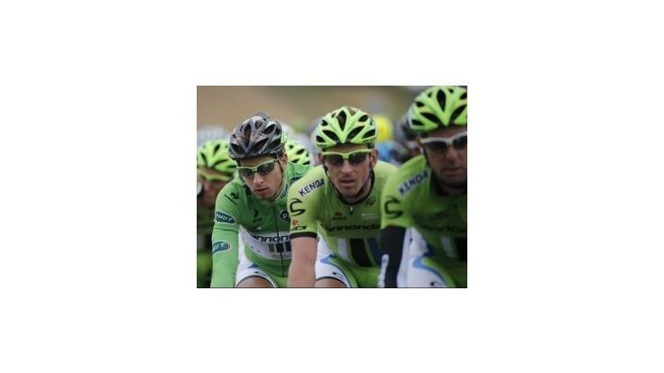 Sagan v 7. etape tesne druhý, víťazom Trentin