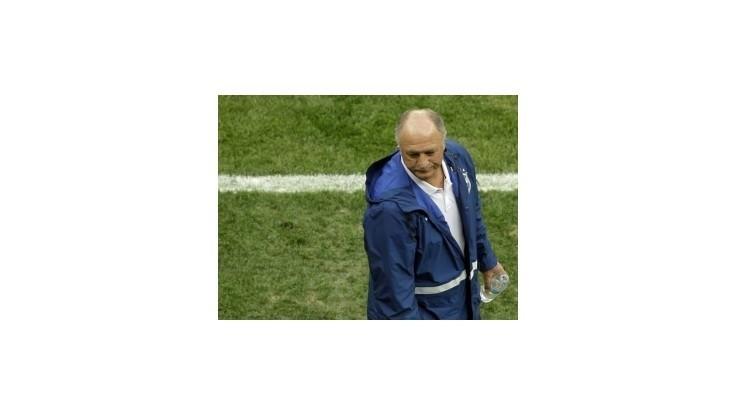 Scolari rezignoval na funkciu trénera Brazílie