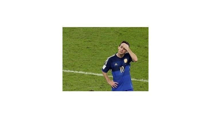 Messi zvracal a potom získal cenu pre najlepšieho hráča