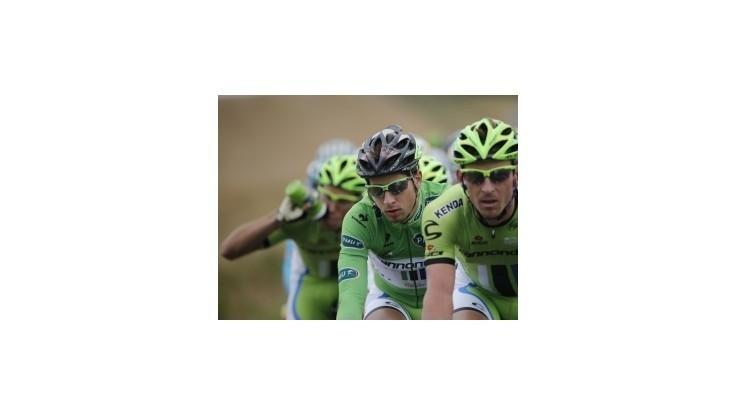 Saganovcom chýba k úplnej spokojnosti víťazná etapa