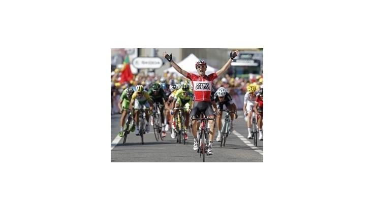 Gallopin ovládol 11. etapu, Sagan deviaty