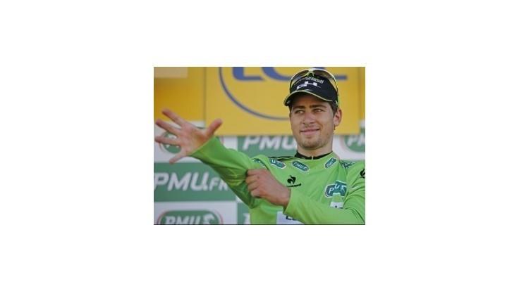 Sagan chcel darovať etapové víťazstvo priateľke k narodeninám